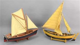 Model Sailboat Grouping