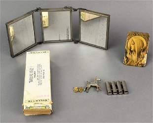 Antique Gillette Razor Blade Grouping