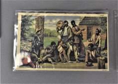 Black Americana Postcard Grouping