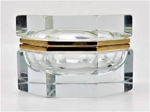 Murano Art Glass Casket