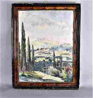 P'al (Paul) Matskassy Oil on Painting