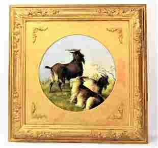J.R. Cooper Antique Oil Painting English School