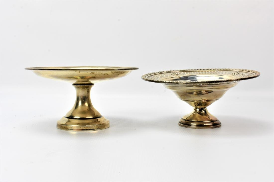 Weighted Sterling Silver Candy Dish Grouping