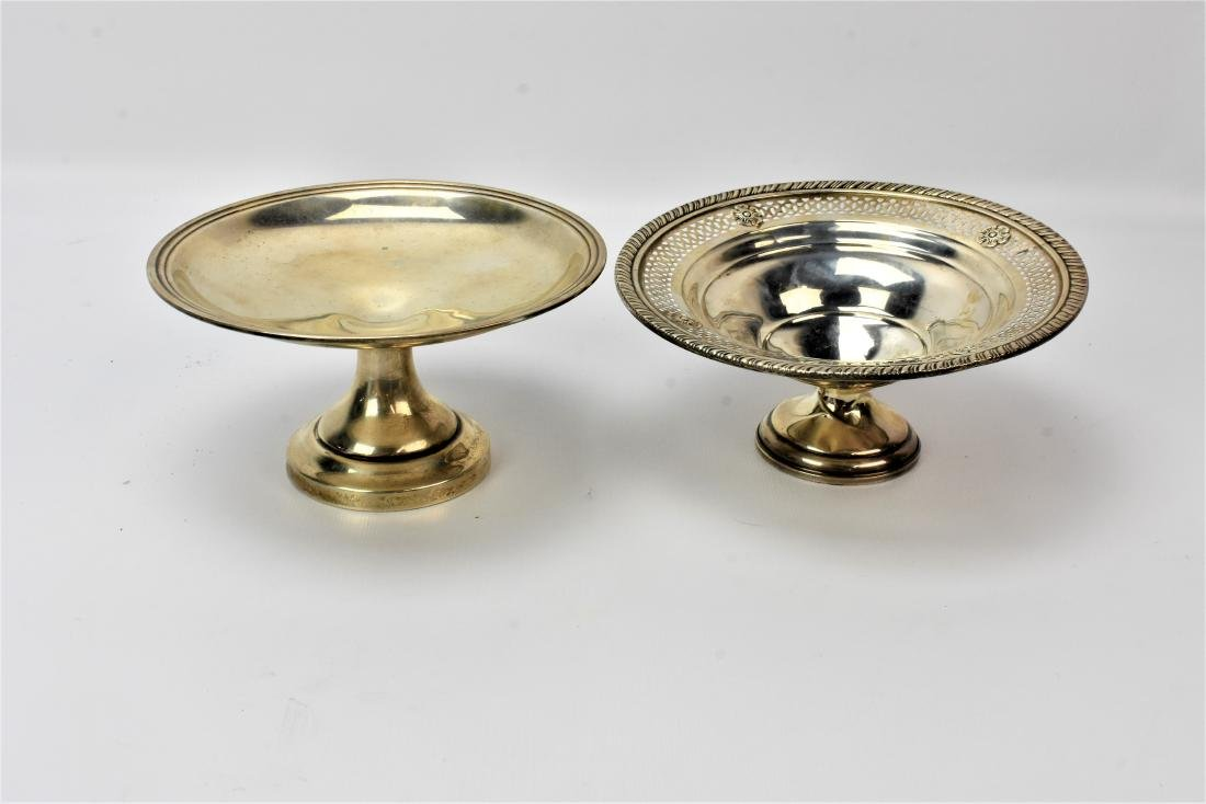 Weighted Sterling Silver Candy Dish Grouping - 2