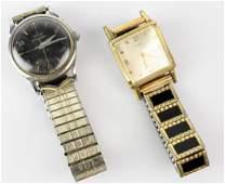 Tissot  Cyma Vintage Mens Wrist Watch Grouping