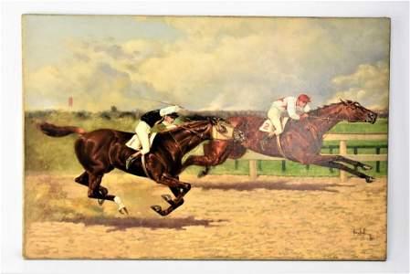 Henry Stull Oil in Canvas Born 1851