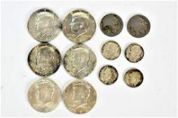 American Silver Coin Grouping