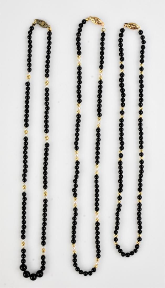 14K Gold Necklace Grouping