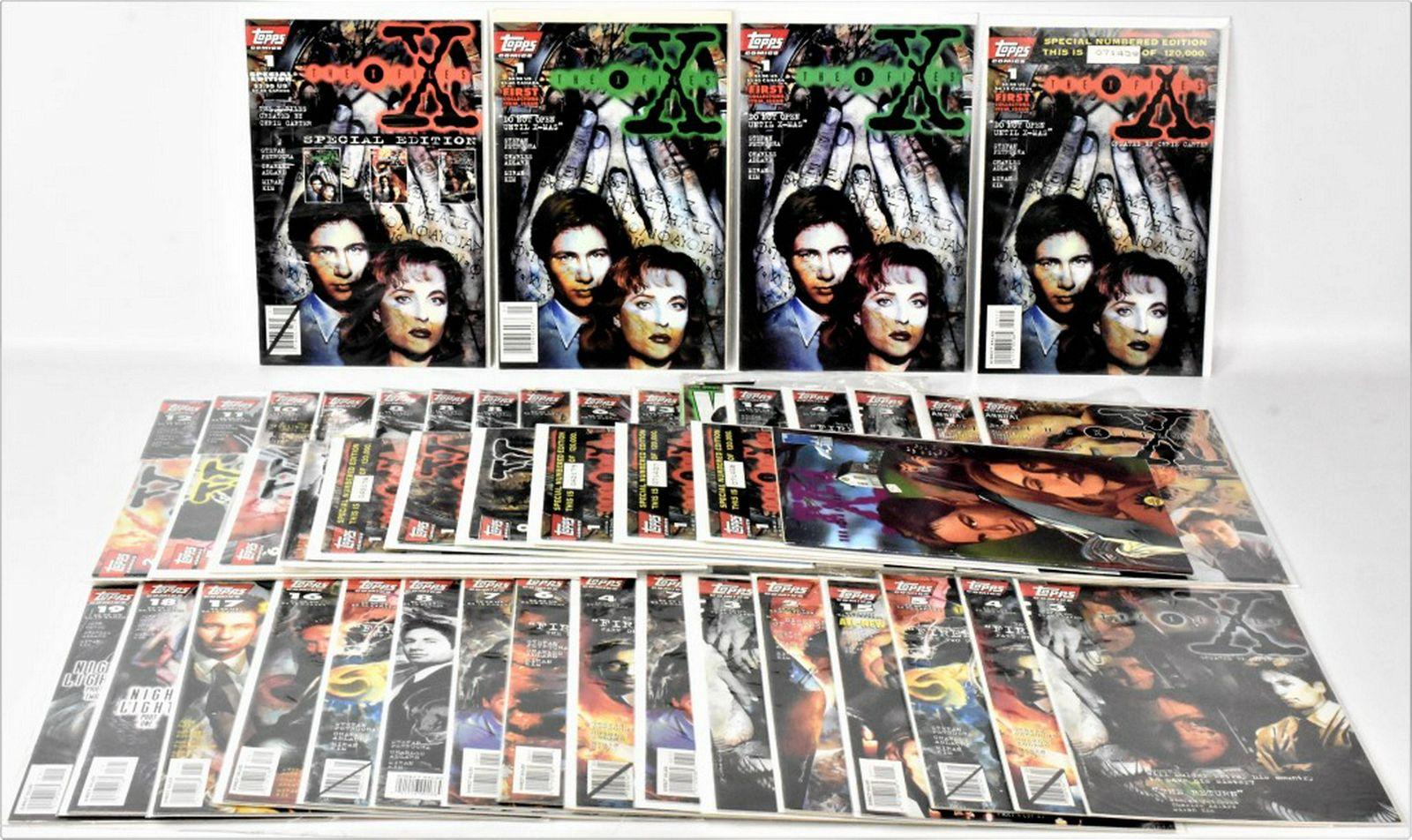 X-Files Comic Book Grouping