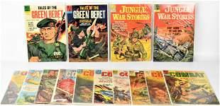 Dell Silver Age Military Comic Books