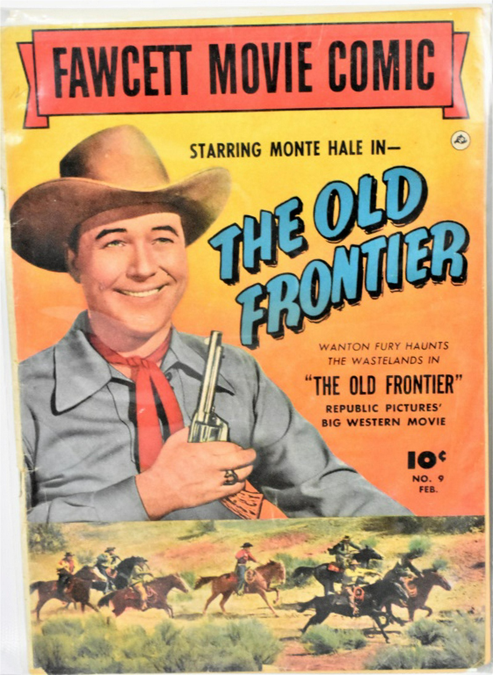 Golden Age Western Movie and TV Comic Book Lot
