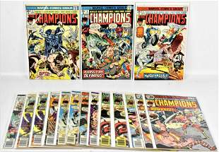 Champions Bronze Comics