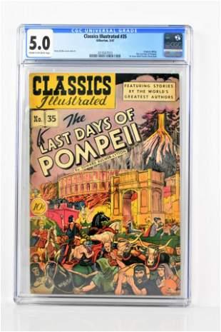 Classics Illustrated 35 CGC 50 1947