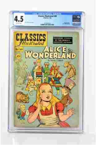 Classics Illustrated 49 CGC 45 1948