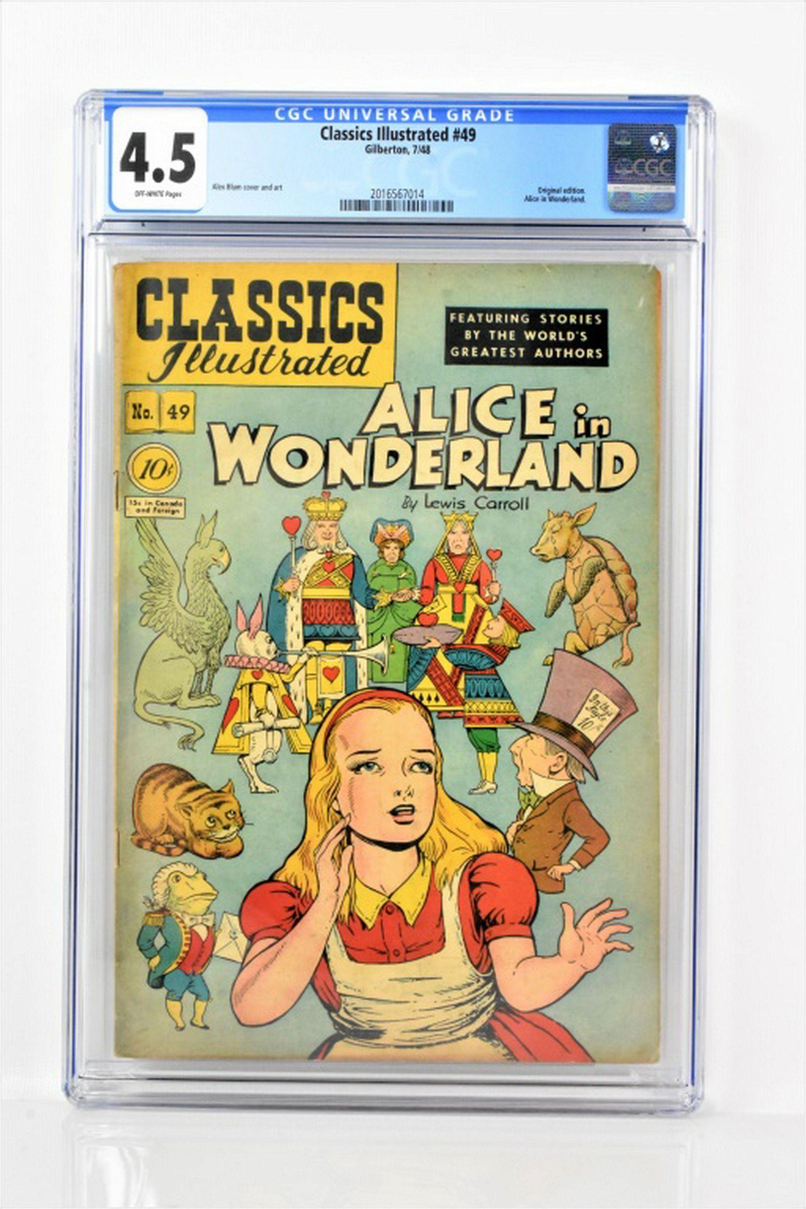 Classics Illustrated #49 CGC 4.5 1948