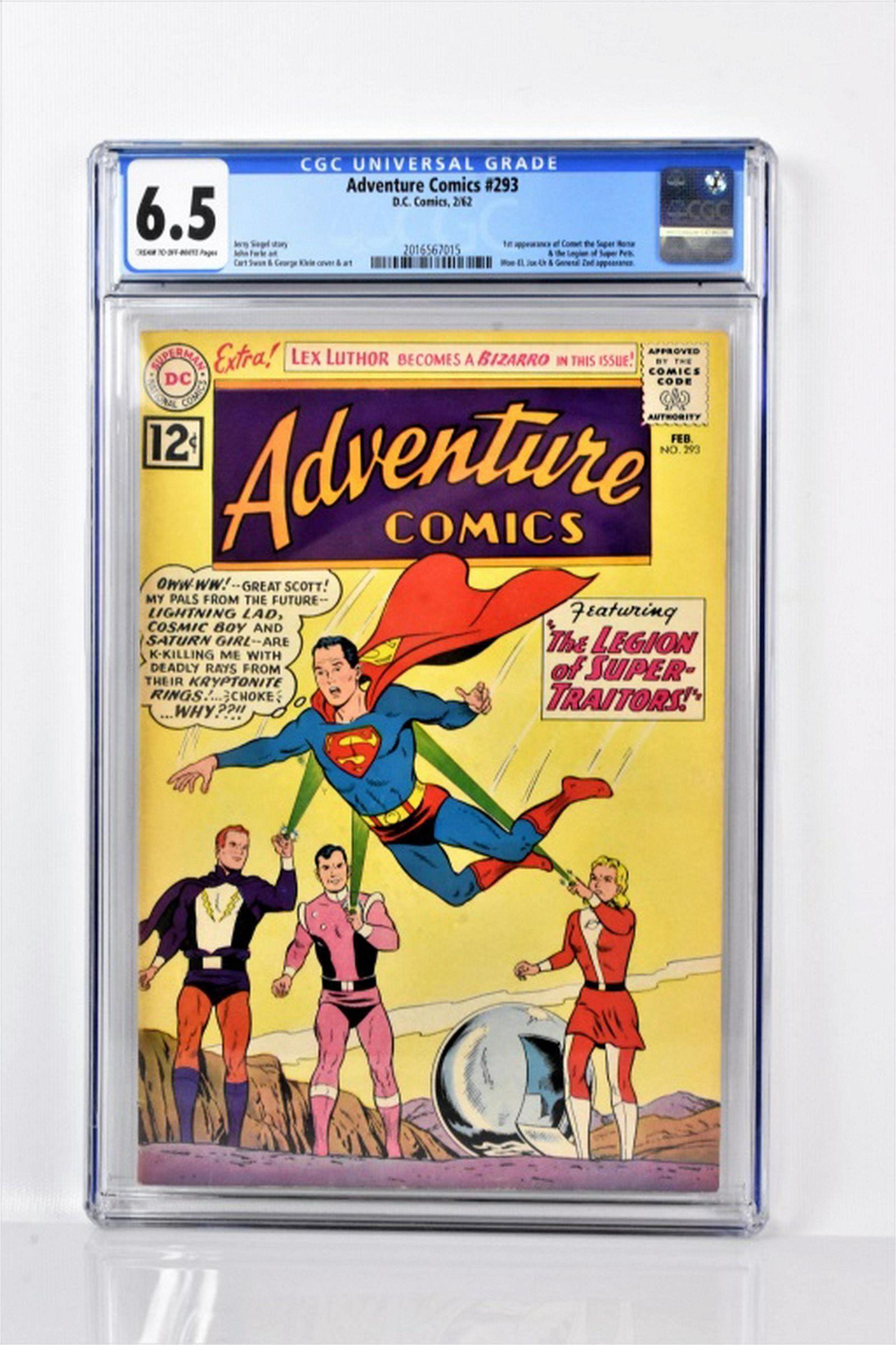 Adventure Comics #293 CGC 6.5 1962