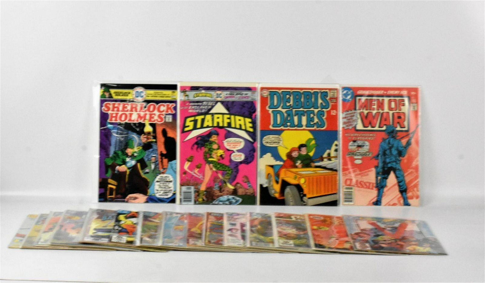 Silver, Bronze, And Copper Age DC #1 Comics