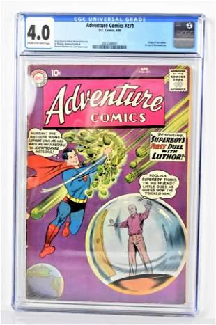 Adventure Comics 271 CGC 40 1960