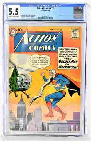 Action Comics 251 CGC 55 1959