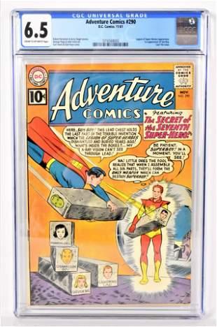 Adventure Comics 290 CGC 65 1961