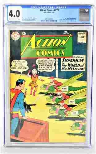 Action Comics 273 CGC 40 1961