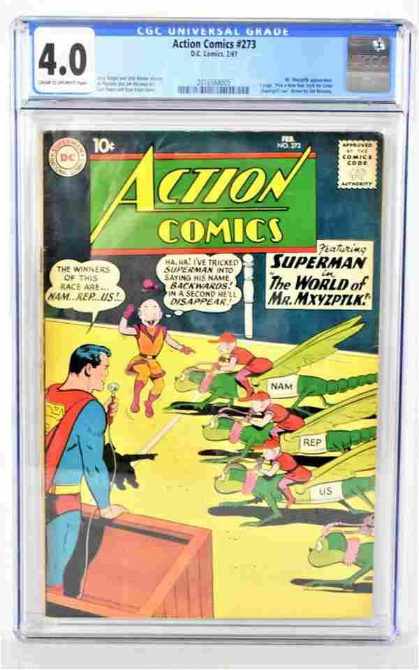 Action Comics #273 CGC 4.0 1961