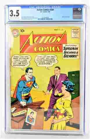 Action Comics 264 CGC 35 1960