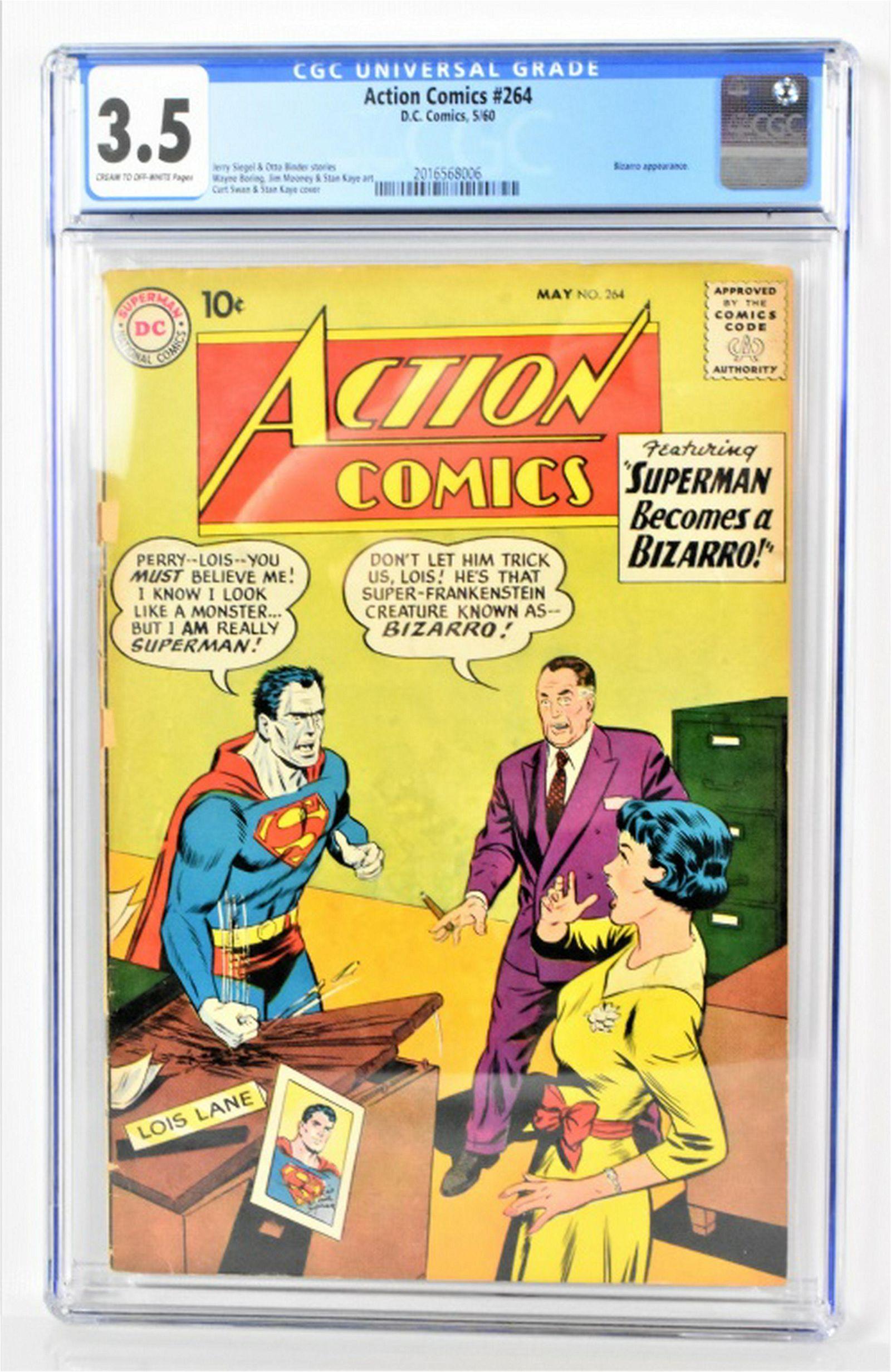 Action Comics #264 CGC 3.5 1960