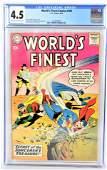Worlds Finest #103 CGC 4.5 1959