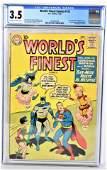 Worlds Finest #113 CGC 3.5 1960