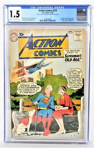 Action Comics 270 CGC 15 1960