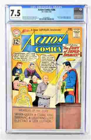 Action Comics 286 CGC 75 1962