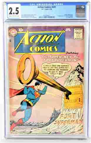 Action Comics 241 CGC 25 1958