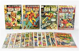 Iron Man  Silver and bronze age comics
