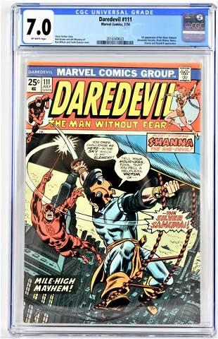 Daredevil Comic 111 CGC 70 1974