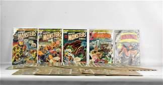 Marvel Horror Bronze Age Comic Grouping