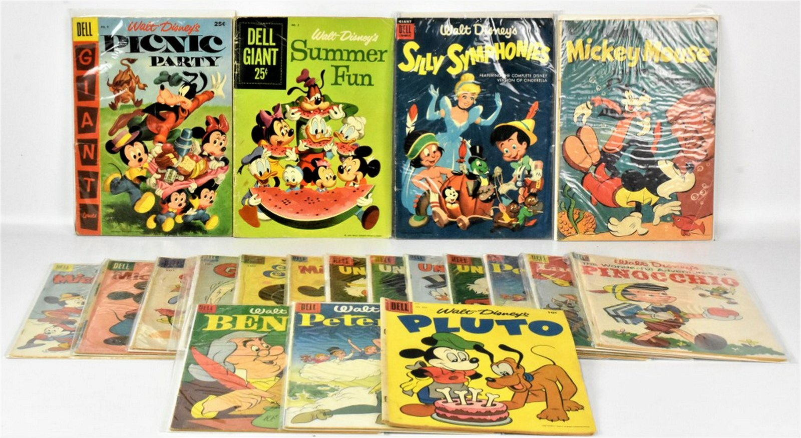 Assorted Disney Silver Age Comics