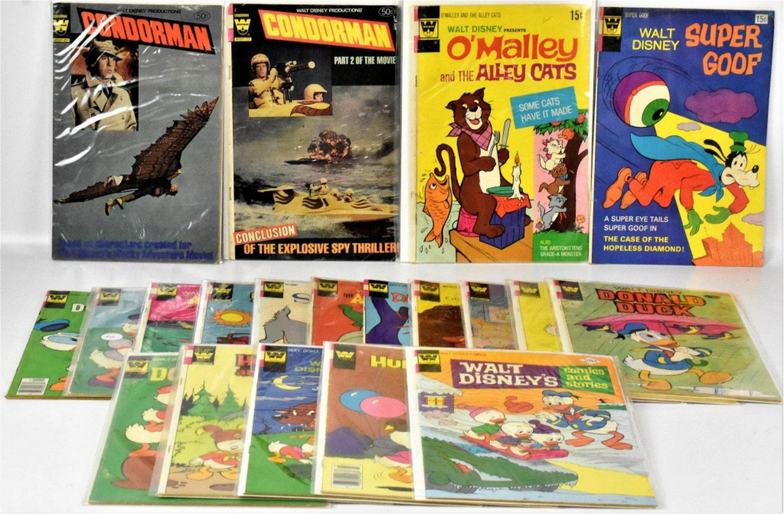 Whitman Disney Assorted Comic Books