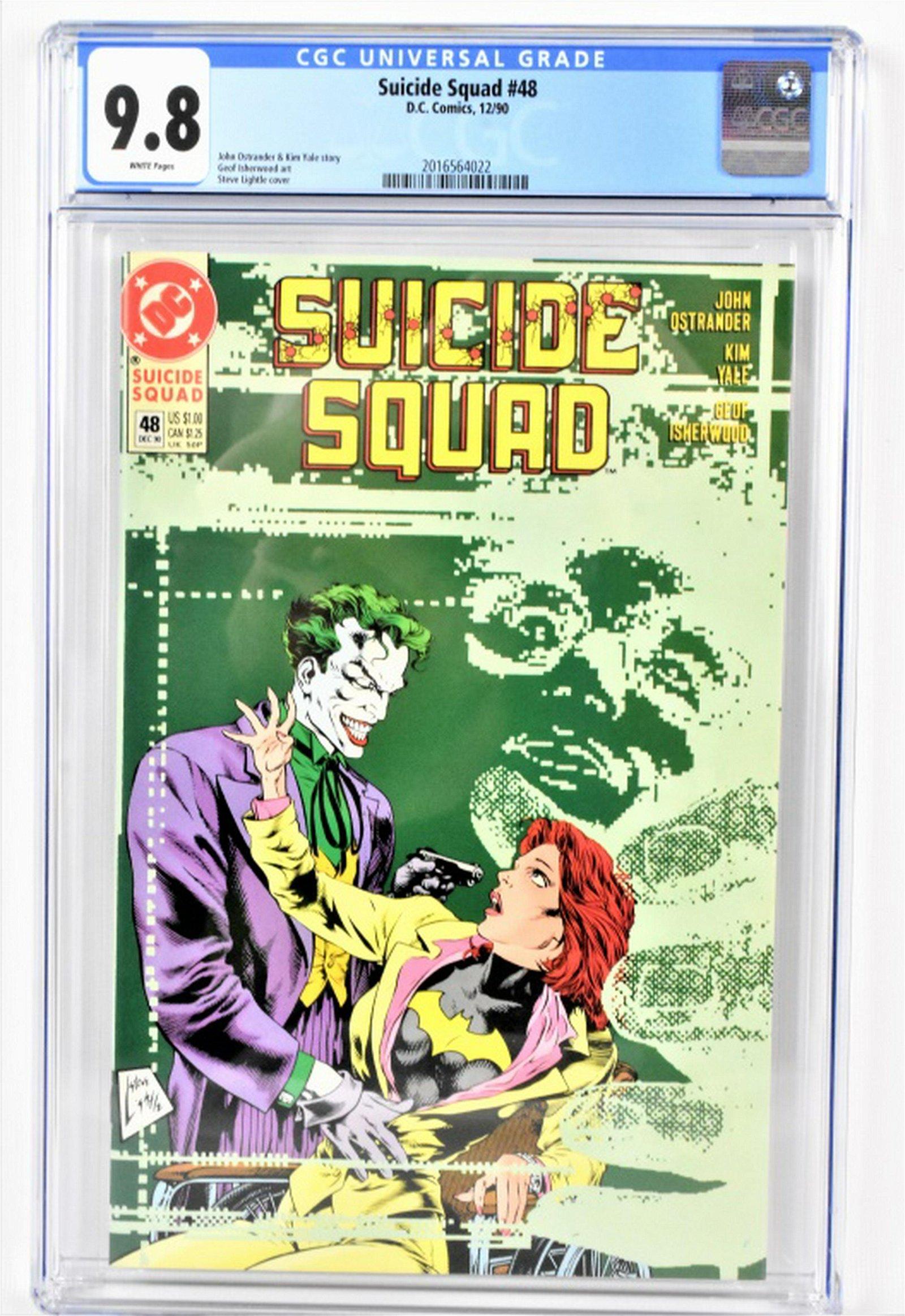 Suicide Squad #48 CGC 9.8 12/90