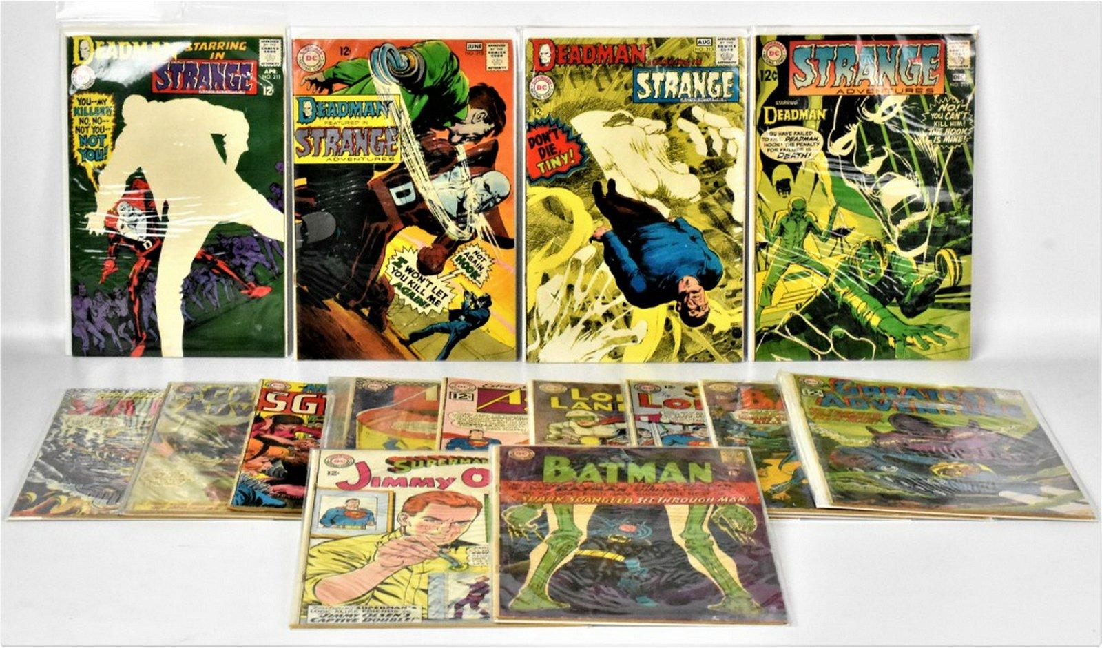 Batman, Superman, and More 12c Comics