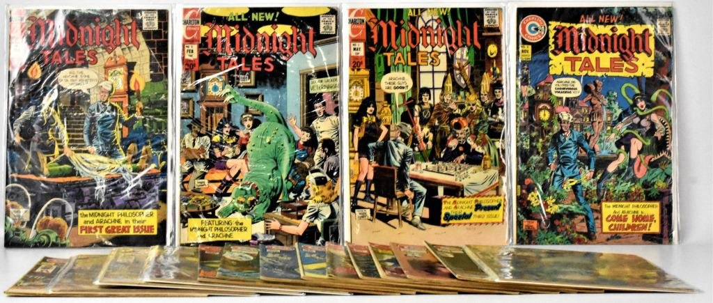 Assorted Charlton Bronze Age Horror Comics
