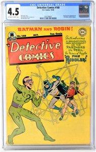 Detective Comics #140 cgc 4.5