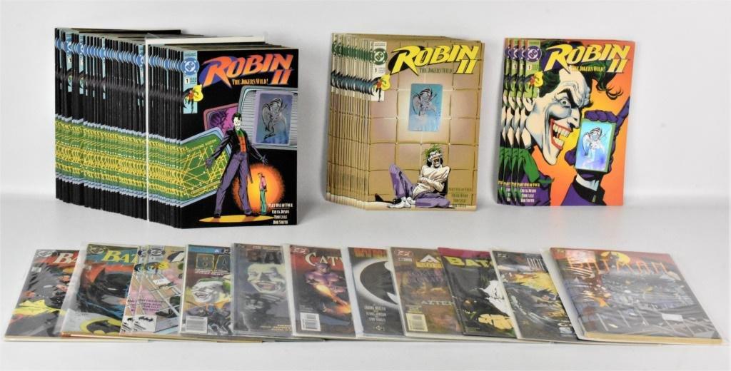 Batman/Joker Comic Books