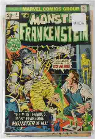 Frankenstein Silver Bronze Age Comics
