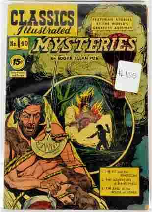Assorted Classics Illustrated Comics