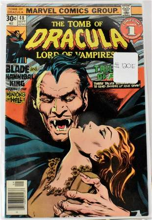 Tomb of Dracula Blade Appearance