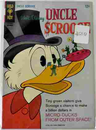 Uncle Scrooge High Grade Silver Age Comics