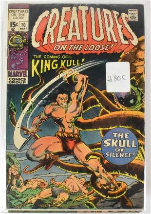King Kull Silver Bronze Age Comics