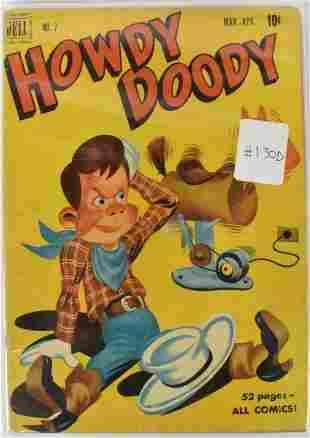 Howdy Doody Golden Age Comics