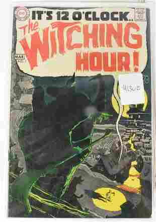 Witching Hour Silver Bronze Age Comics